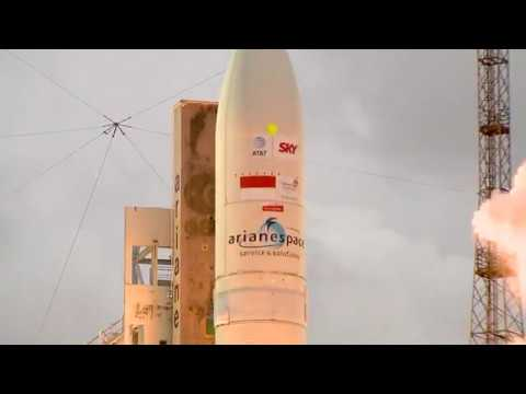 An Ariane 5 success for long-time partners maintains Arianespaces 2017 launch tempo.