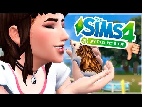 REVIEW COMPLETA - Los Sims 4 MI PRIMERA MASCOTA 🐹  | ¿Merece la pena? OPINIÓN SINCERA