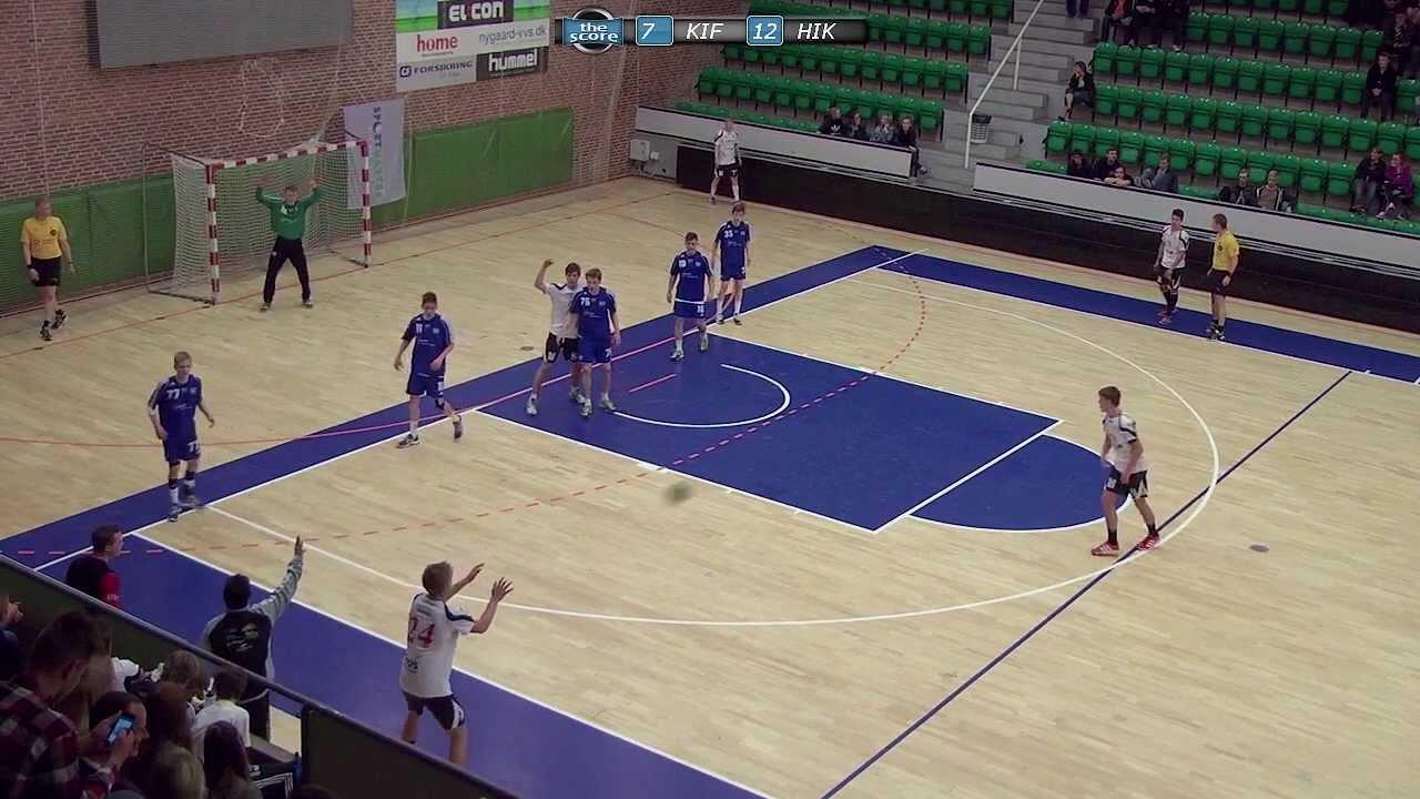 Sps Håndbold U16 Dm 2013 Drenge Kolding If Vs Hik