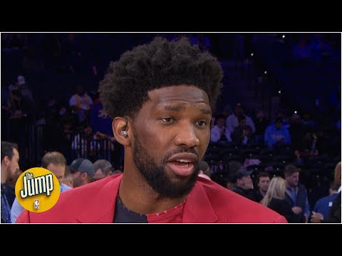 Joel Embiid: I'll shoot more 3-pointers if Ben Simmons isn't comfortable | The Jump