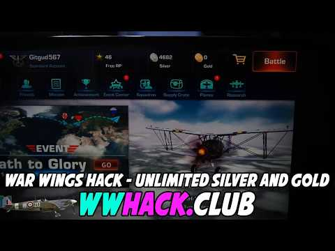 War Wings Hack - War Wings Cheats - Free Gold and Silver [iOS/Android]