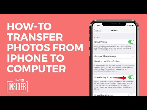 How to transfer photos from iPhone to PC. Tips from GoldenYearsGeek.com. Click SHOW MORE if you ex.