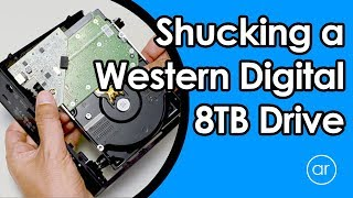 How to Remove / Shuck the Hard Drive from Western Digital Easystore 8TB Drive