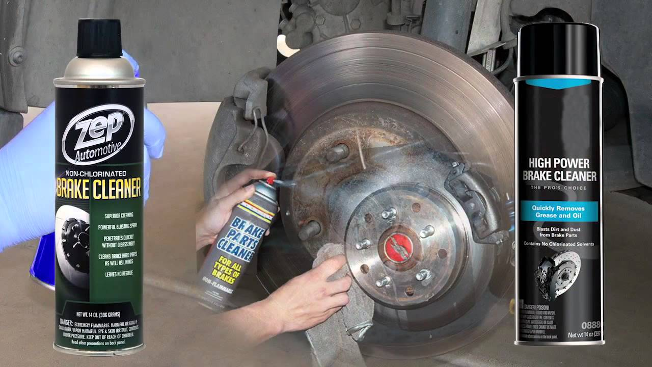 Zep auto brake battery cleaner video