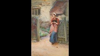 Carlton Alfred Smith (1853-1946) English artist  ✽ Cantabile in D Major / Takako Nishizaki