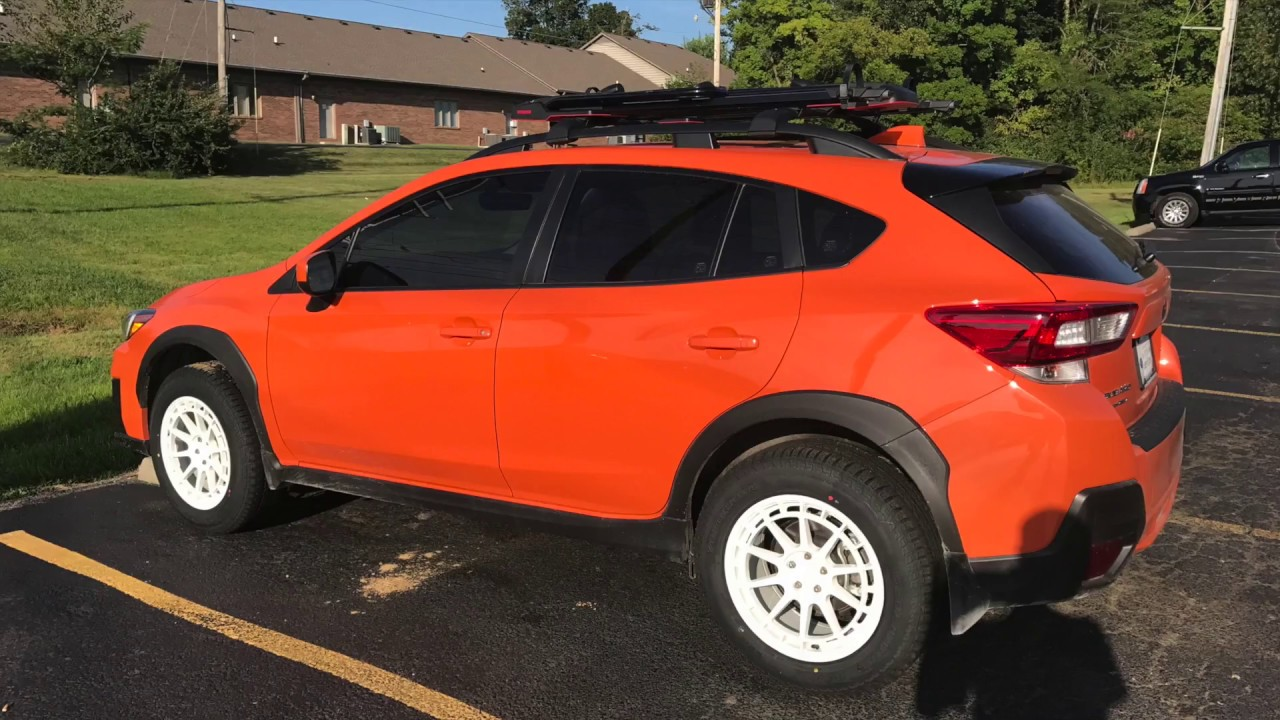 2018 Crosstrek Aftermarket Wheel And Tire Fitment