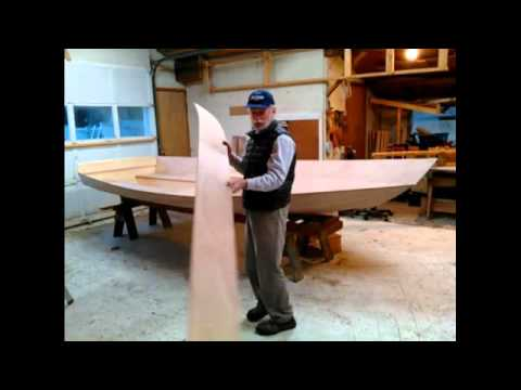 Preparation of a Shell Boats sail boat kit