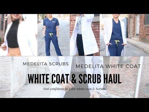 Medelita White Coat & Scrub Haul   Medical Student