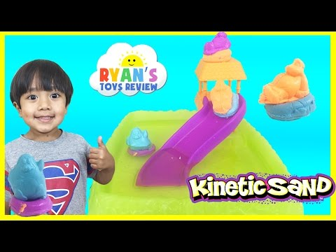 Kinetic Sand Float Adventure Waterpark Toys For Kids