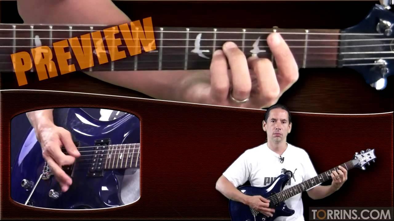 Alvida Guitar Lesson Preview Youtube