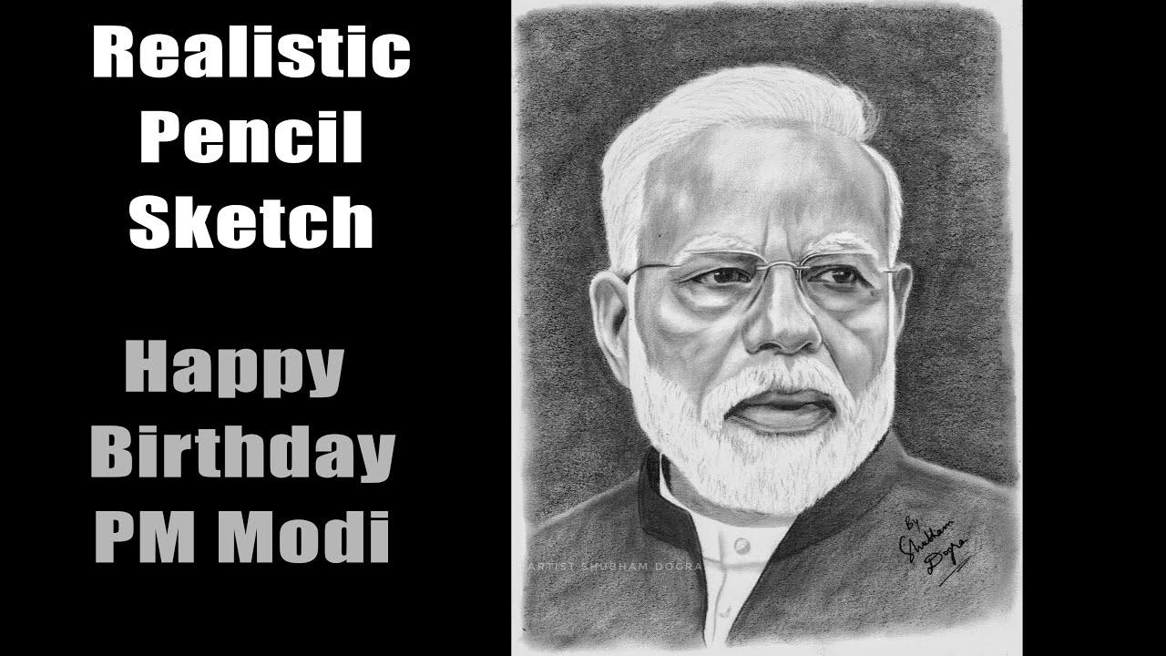 Happy Birthday to Prime Minister Narendra Modi - Realistic ...