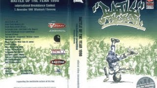 International Battle Of The Year BOTY 1998