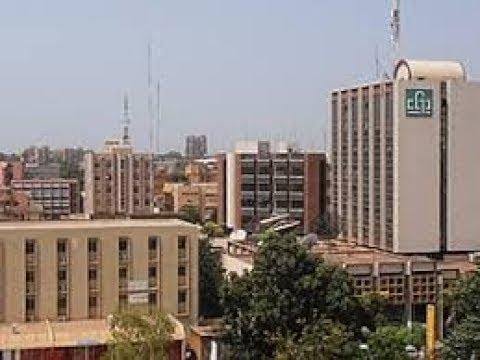 Ouagadougou center the capital of Burkina Faso