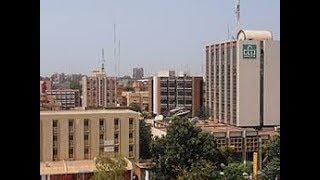 Le centre ville de Ouagadougou la capitale du Burkina-Faso