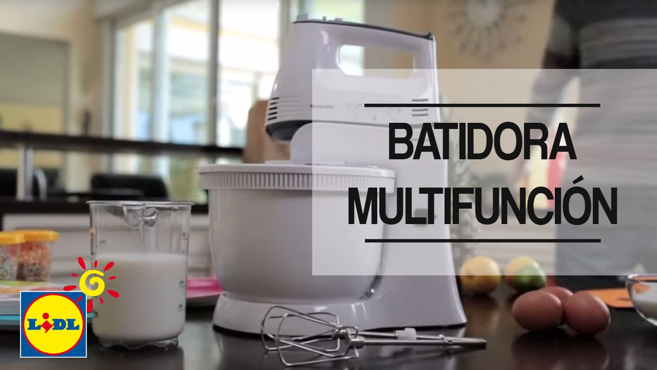 Batidora Multifuncion Lidl Espana Youtube