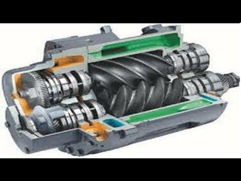 Screw Pump Maintenance Overhauling