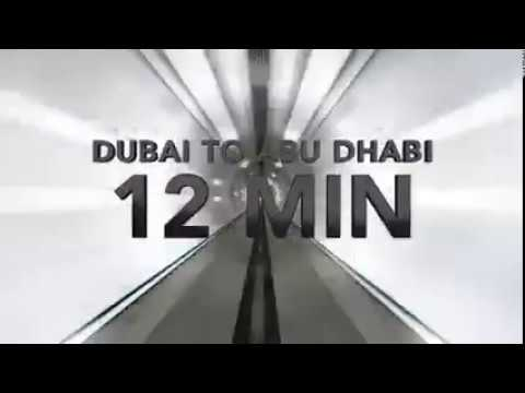 HyperLoop One, Official Trailer UAE - Dubai to Abu Dhabi in 12 Min.