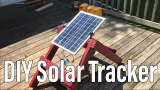 DIY Solar Panel Tracking Low Cost