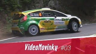The Most Rally #2 - průjezdy a rozhovory po RZ 5