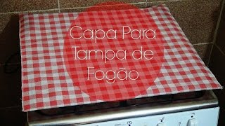 CAPA PARA TAMPA DE FOGÃO
