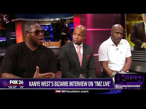 Heated 'TMZ Live' exchange for Kanye West
