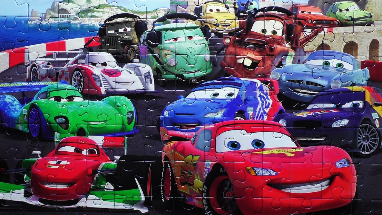 disney pixar cars puzzle games rompecabezas de cars 2 kids learning toys puzzles game youtube. Black Bedroom Furniture Sets. Home Design Ideas