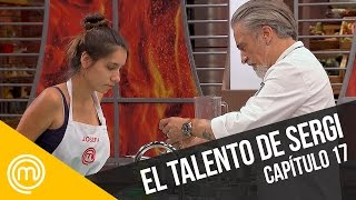Sergi muestra sus habilidades   MasterChef Chile 3   Capítulo 17