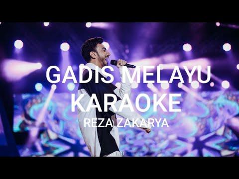 REZA ZAKARYA _GADIS MELAYU_Original KARAOKE VERSION