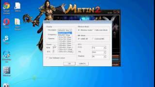 metin2 de ekran küçültme
