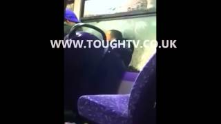 Young Boy Fighting With Jamaican Mother On London Bus WWW.toug…