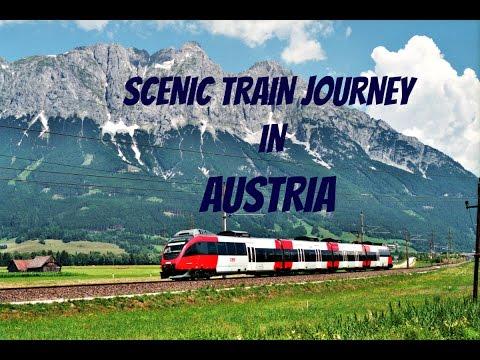 Scenic Train Journey In Austria Innsbruck Hd Youtube