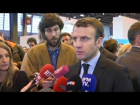 """Cabinet noir : Macron sous-entend que Fillon """"insulte tout le monde"""""""