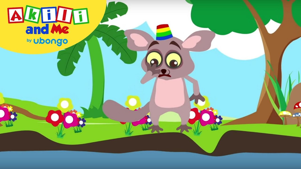 Bush Baby is Scared of Water! | Feelings & Friends with ...