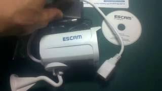 Розпакування камери escam QD300 Brick
