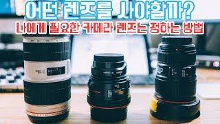 [4k] 나에게 필요한 카메라 렌즈는? | 사진작가의 렌즈 선택 노하우 | 카메라 렌즈 꿀팁