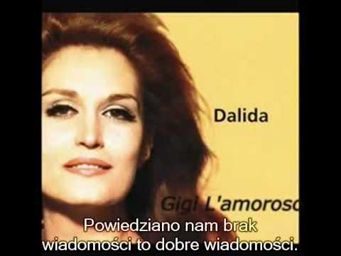Dalida - Gigi L'amoroso (napisy PL/ subilities PL)