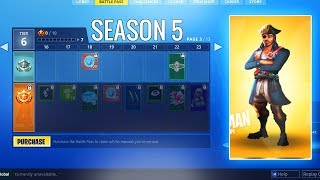 SEASON 5 BATTLE PASS TIER 100 SKIN + THEME REVEALED!? (Fortnite Season 5 Info & Leaks)