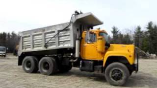 Mack RD686S Dump Truck Tipper Bucket Head Unit for sale at www.ATTHE.com