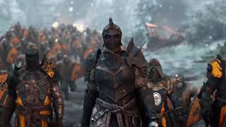 Нарезка игровых трейлеров игры For Honor под музыку