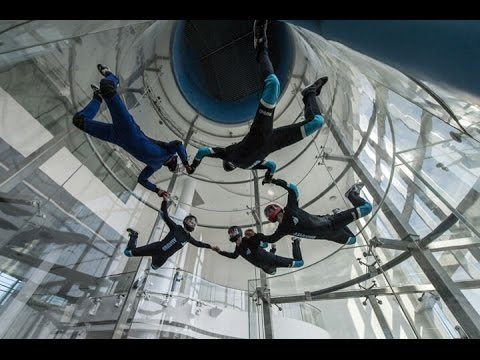 Sky diving: Go for a spin at wind tunnel facility in Beijing