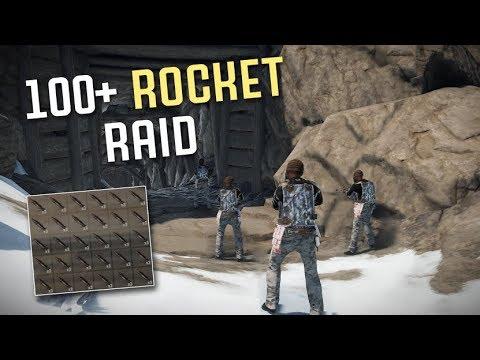 100+ Rocket Raid on Cave Base! | Vanilla Rust thumbnail