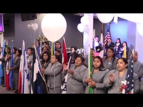 Aniversario del nuevo iglesia neo petecostes san Rafael California