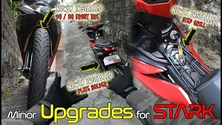 Installing a Step Grill | New Pirelli Angel CiTy Front Tire | New Plate Holder