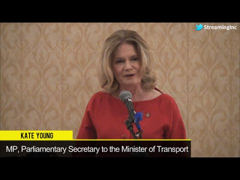Kate Young, MP, Parliamentary Secretary to the Minister of Transport