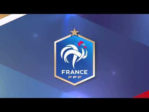 Animation logo FFF en 3D // France vs Portugal // Stade de France 11 oct 2014
