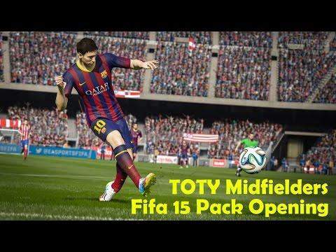 Fifa 15 - Pack Opening - TOTY Midfielders
