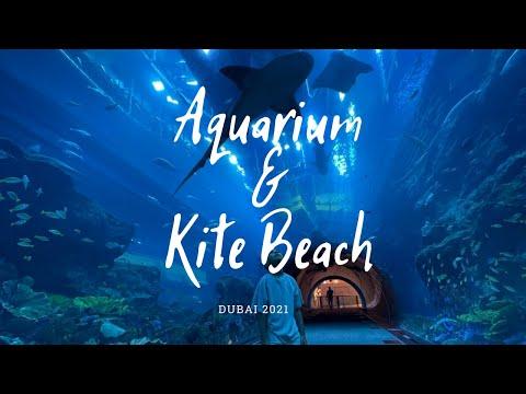 Dubai Aquarium & Kite Beach with a kid|Аквариум Дубая и пляж Кайт Бич