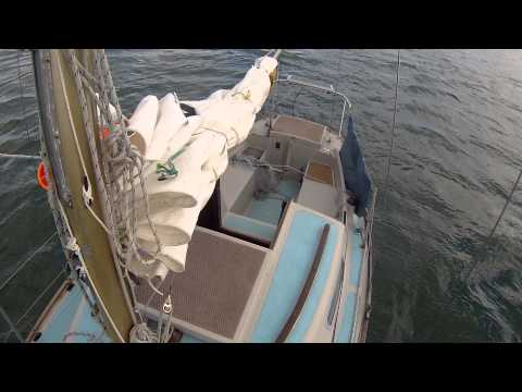 Anchoring on a windy day