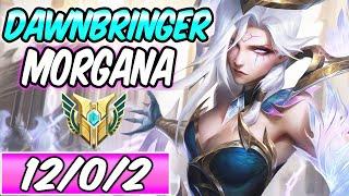 S+ DAWNBRINGER MORGANA - NEW AMAZING SKIN FULL AP MID GAMEPLAY New Build & Runes -League of Legends