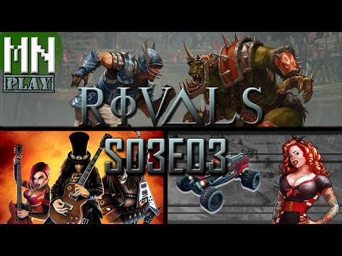 Rivals S03E03 | Blood Bowl, Guitar Hero, BlazeRush